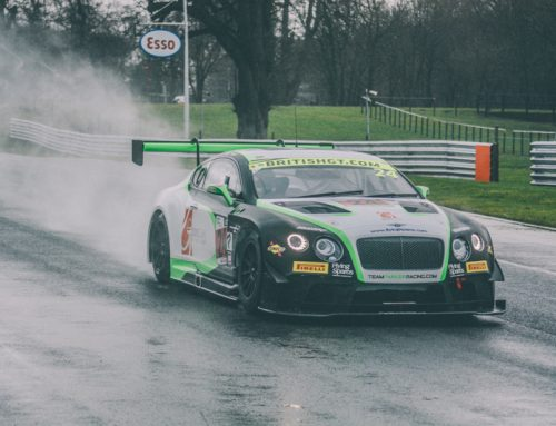 BENTLEY DOMINATES BRITISH GT WITH DOUBLE POLE AT OULTON PARK